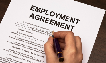 Key provisions of employment agreement